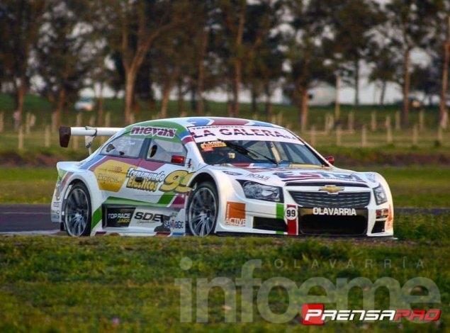 Josefina Vigo arribó 13º en la Top Race Series