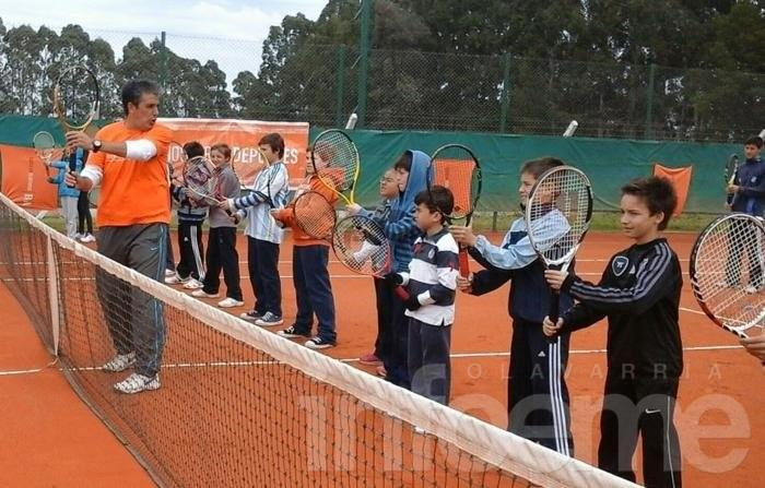 Capacitación de tenis en Olavarría