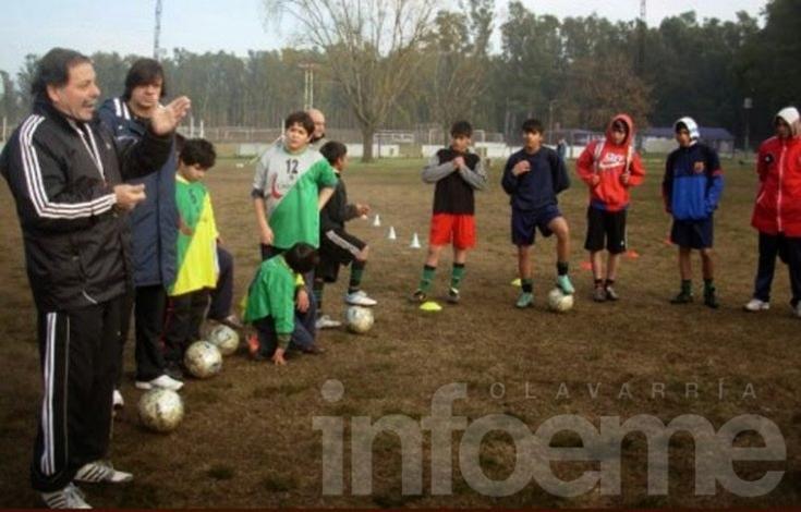 Capacitación en fútbol infantil