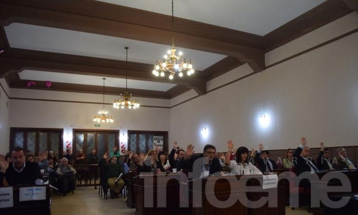 Sesión: se planteó la inseguridad y se anunció una marcha