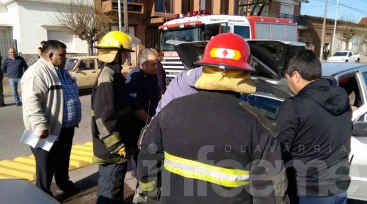 Video: así trabajó Bomberos en el quíntuple accidente