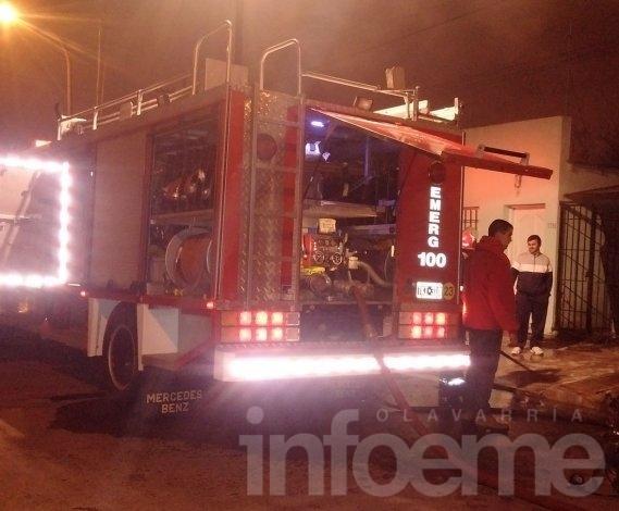 San Vicente: incendio ocasionó importantes pérdidas en vivienda