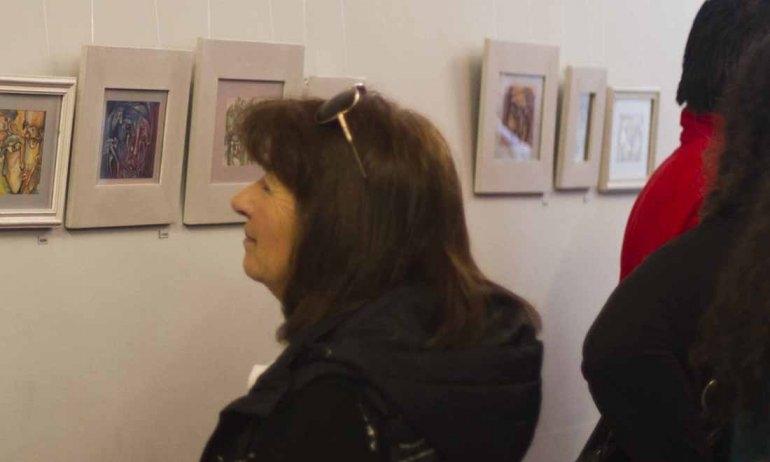 """Inauguró la muestra """"María y María vol. 1"""""""