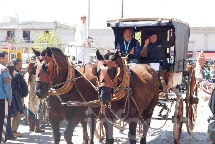 Gauchos olavarrienses peregrinaron a Luján