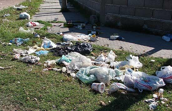 A partir de 7 mil pesos las multas por arrojar basura
