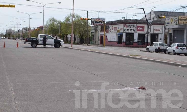 Un hombre fue atropellado por una camioneta y sufrió graves heridas