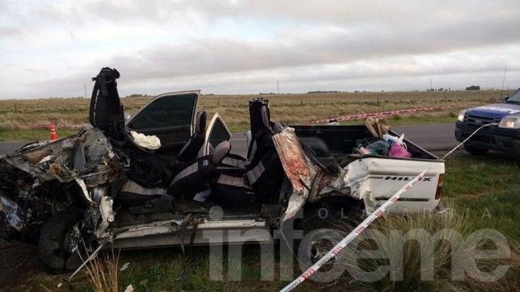Camionero olavarriense involucrado en fatal accidente en Ruta 51