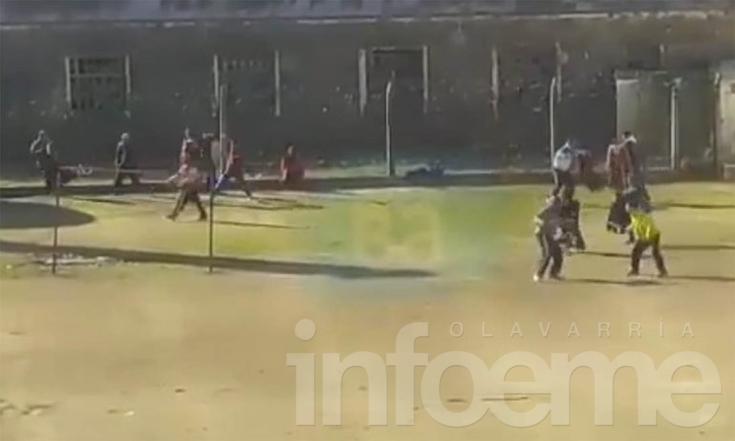 Difunden video con un violento enfrentamiento en Sierra Chica