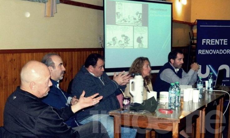 Elección de delegados: UNA presentó la idea en Hinojo