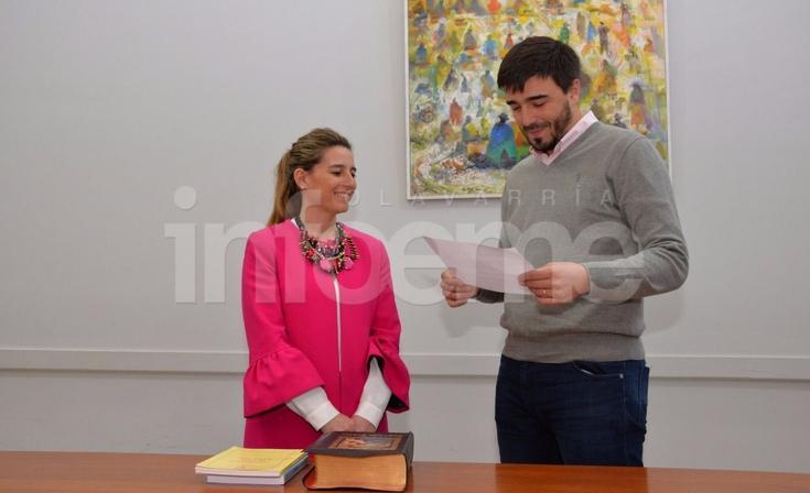 Mariana Diamanti juró como Secretaría de Salud