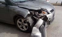 Se chocó un auto que terminó impactando contra camioneta