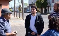 Unidad Ciudadana en el barrio Hipólito Yrigoyen