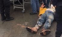 Violento choque entre motomandado y remis: un hombre resultó herido