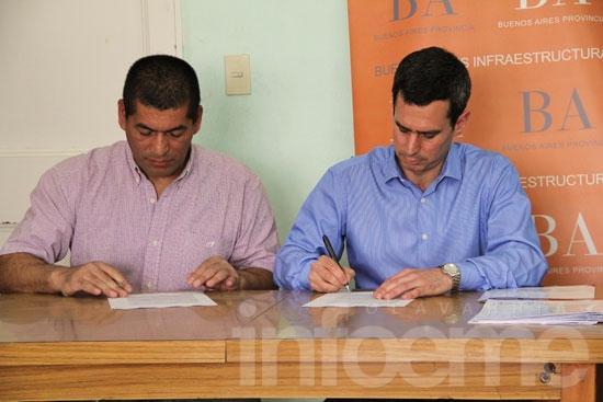Firmaron un nuevo convenio para el barrio Químico