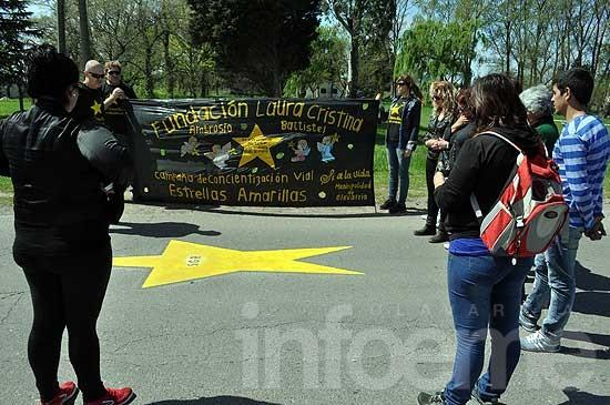 Estrellas Amarillas para recordar a víctimas de siniestros viales