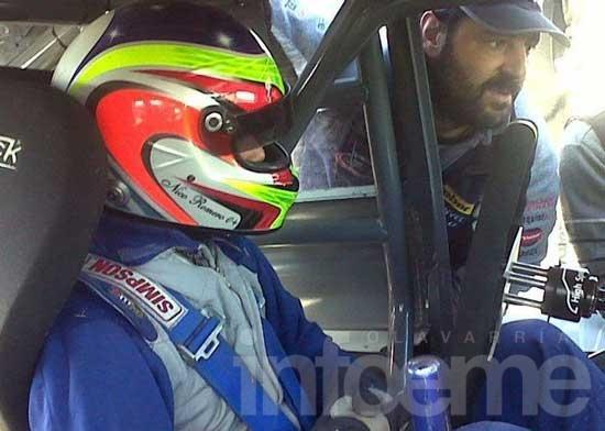 Herrera y Romero probaron el Ford en el Amco