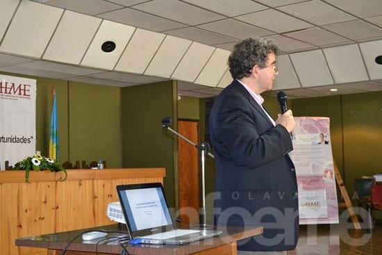 El economista José Siaba Serrate pasó por La Expo
