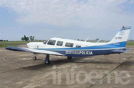 La Policía Rural dispondrá de un avión para realizar operativos