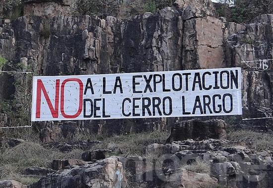 """""""Somos Sierras Bayas y no vamos a tener sierras"""""""