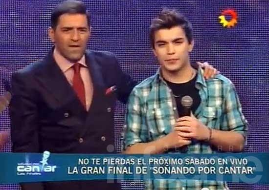 Ramiro emocionó al jurado y ya se encuentra en el tramo final
