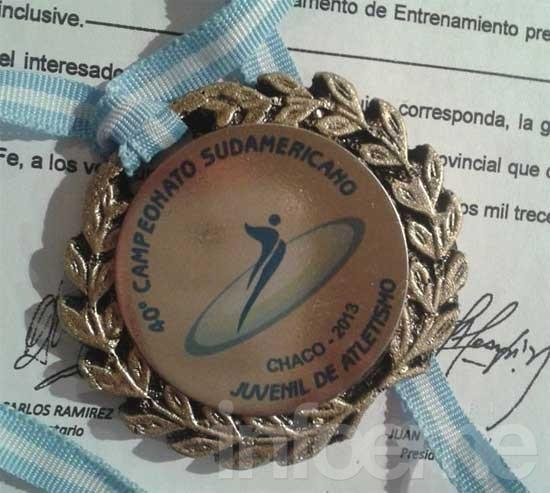 Otra medalla sudamericana para Esteban Wagner