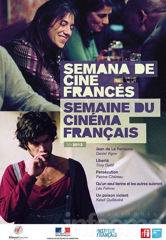 Se viene la 4º Semana de Cine Francés en Olavarría