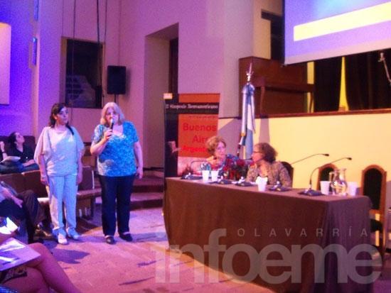 """Profesoras del ISFD N° 22 en el 2° Simposio Iberoamericano """"Historia, educación, Patrimonio Escolar"""""""