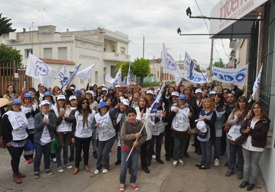 UDO marchó contra la violencia escolar