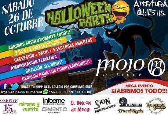 """""""Halloween Party"""" en la Matineé de Mojo"""