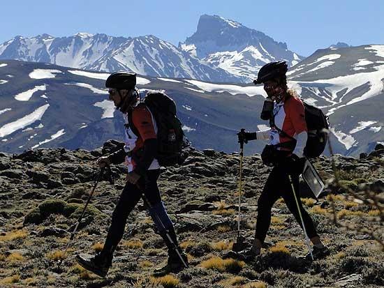 Atletas locales conquistaron la Cordillera de los Andes