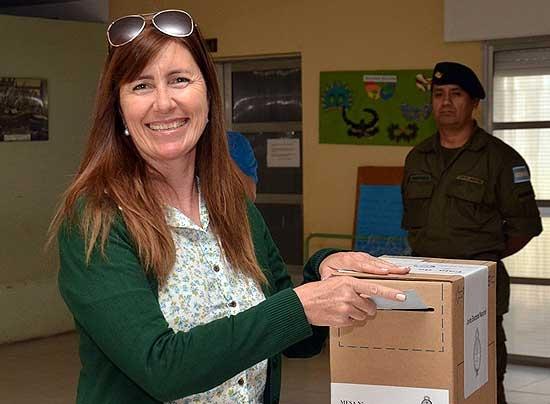 Votó Liliana Schwindt