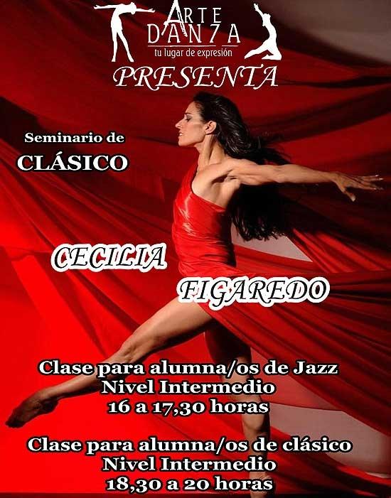 Seminario de danza a cargo de Cecilia Figaredo