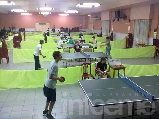 Nuevo torneo de tenis de mesa en Mariano Moreno
