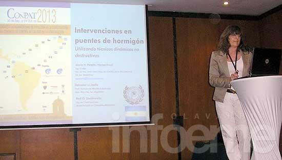 Docentes de la Facultad de Ingeniería expusieron en Colombia investigaciones sobre construcción