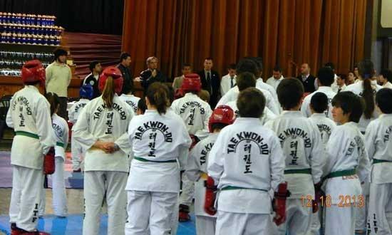 Pasó el interprovincial de taekwondo
