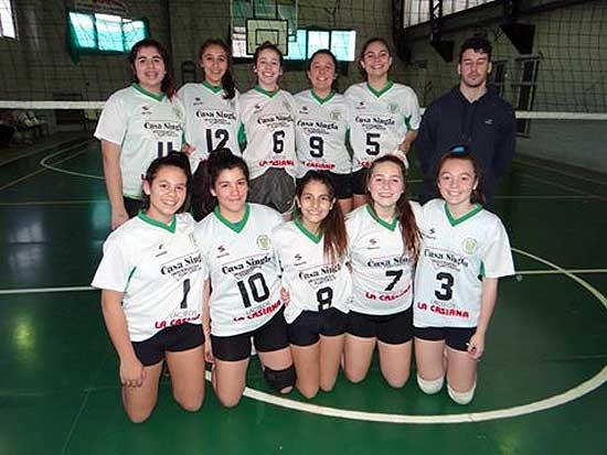 Copa Argentina para las chicas de Pueblo Nuevo