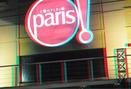 El Complejo París reabrirá como sala de cine 2D y 3D