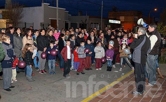 Volvieron a manifestarse por la situación del Colegio Fátima