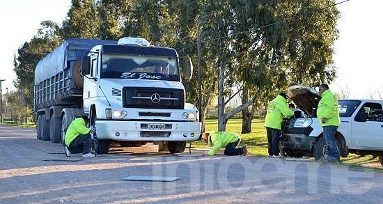 Camiones con exceso de carga