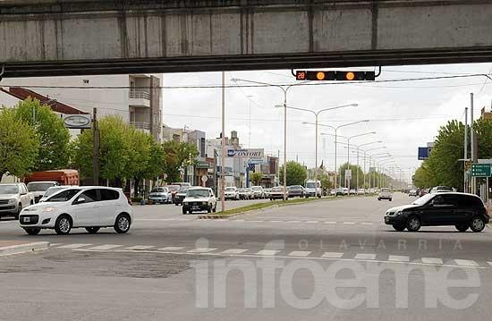 Instalaron semáforos con dispositivos de cuenta regresiva