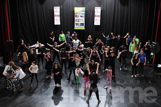 La danza le dio cierre a la Semana de la No Discriminación