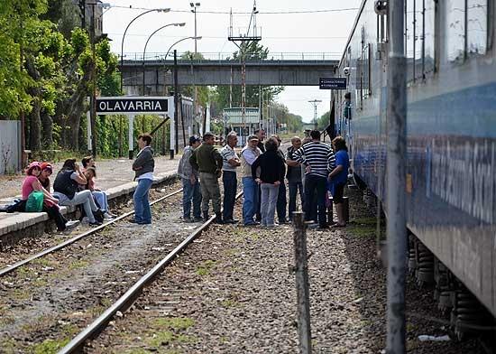 Un tren de desarrollo social y sanitario llegó a la Ciudad