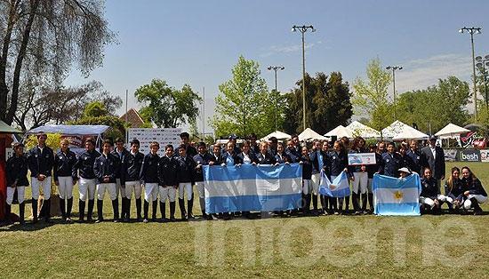 Gran labor de los olavarrienses en el Sudamericano de Chile
