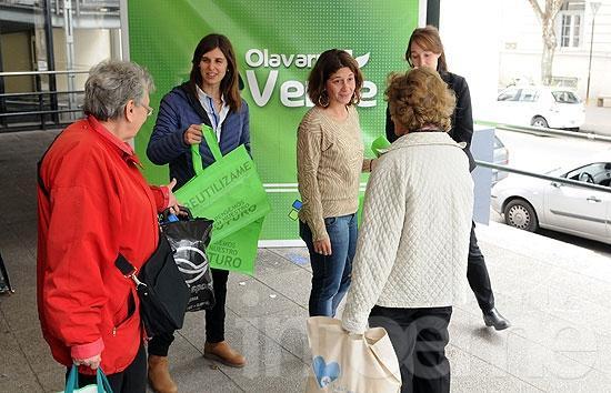 Se entregaron más de 20 mil Ecobolsas