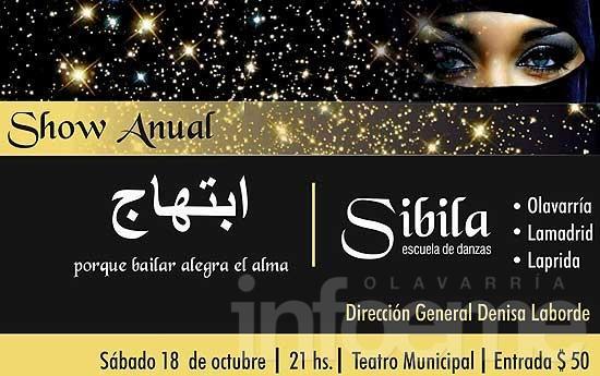 Show de árabe en el Teatro