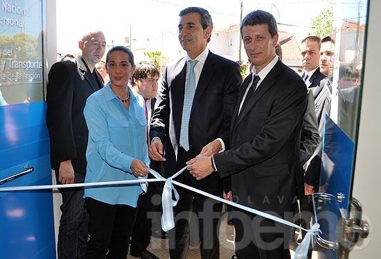 Florencio Randazzo inauguró el CDR de Olavarría
