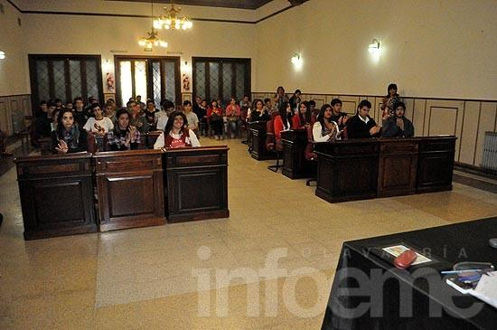 Sesionó el Concejo Estudiantil por primera vez en el año