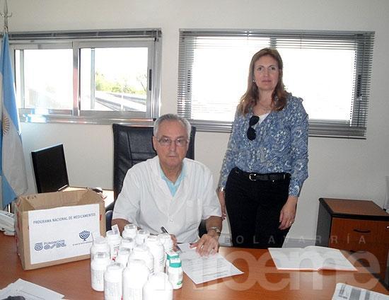 Donaron medicamentos al Hospital Municipal