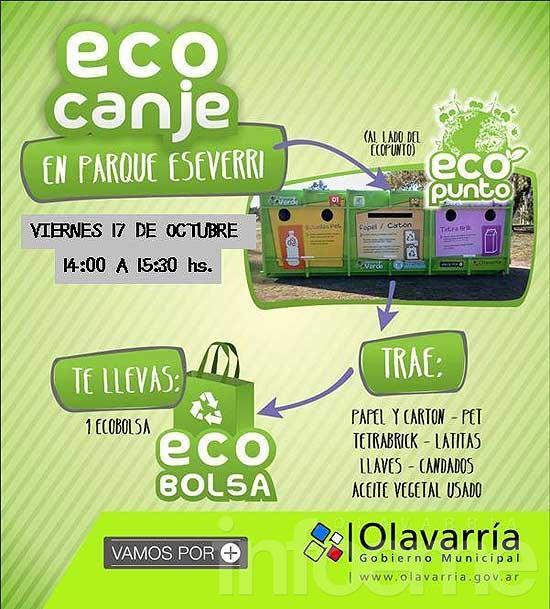 Se realizará el primer Eco Canje