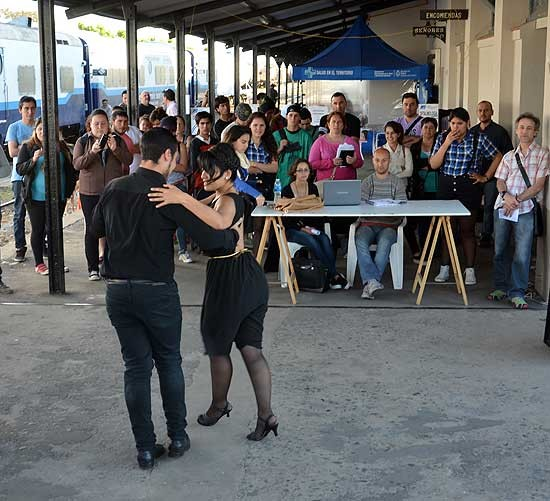 El tren de Desarrollo Social y Sanitario recibió a más de 1000 personas